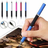 2in1 Capacitive Touch Screen Stylus Ballpoint Pen For iPhone Samsung iPad Tablet