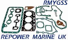 SET GUARNIZIONE PER YANMAR 3jh2e Marine Diesel, ricambio #: 729171-92600