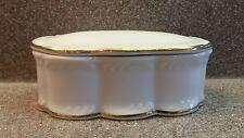 KPM Konigliche Porzellan Manufaktur BAVARIA GERMANY PORCELAIN LIDDED TRINKED BOX