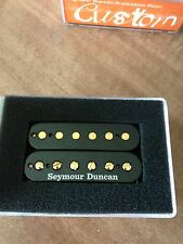 Seymour Duncan SH-4 JB Humbucker Pickup Black with Gold Poles NEW (11102-13-B)