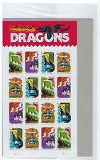 USPS Sealed Package! Forever Stamps.Dragons. Souvenir Sheet.