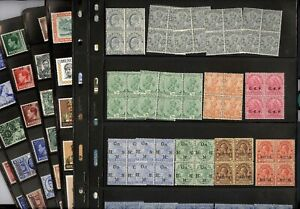 BRITISH COLONIES, GREAT BRITAIN Offices Abroad, Excellent assortment of Stamps