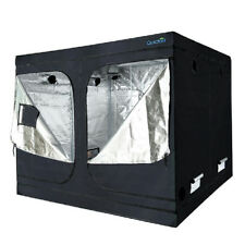 """Quictent 96""""x96""""x78"""" Reflective Mylar Hydroponic Grow Tent with Waterproof Tray"""