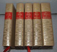 Works of Kipling, Shakespeare, Cellini Haggard Maupassant Blacks Readers Service