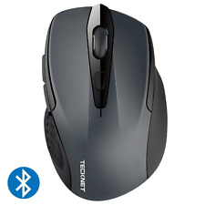 TeckNet 2600DPI Bluetooth Wireless Mouse, 12 Months Battery Life with Battery