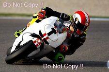 Marco Simoncelli San Carlo Honda Gresini Moto GP Sepang Test 2009 Photograph 1