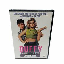 Buffy the Vampire Slayer DVD NEW Kristy Swanson Luke Perry Rutger Hauer 1992 OOP