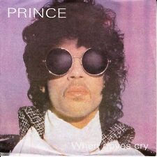 """PRINCE When Doves Cry PICTURE SLEEVE 7"""" 45 rpm record + juke box title strip NEW"""