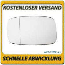 Spiegelglas für TOYOTA STARLET 1996-1999 links Fahrerseite asphärisch