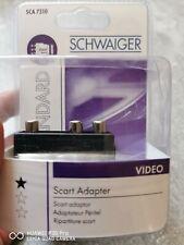 SCHWAIGER SCA7310 Scart Video AV-Adapter 3xCinch / IN Audio