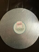 """Cake Boards Round Twin Pack 10"""""""