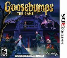 GOOSEBUMPS: THE GAME 3DS   (NINTENDO 3DS, 2015) (0295)   FREE SHIPPING USA