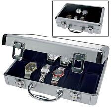 Safe Alu-Koffer für 12 Uhren, abschließbar 280x200x80m (265)