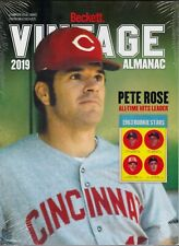 2019 Beckett Vintage Almanac sealed copy Pete Rose Cover All Sports