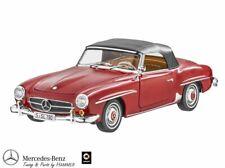 Original Mercedes-Benz 1:18 Modèle 190 Sl W121 Rouge Moyen Norev B66040647