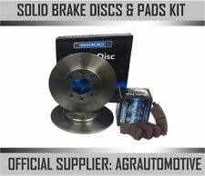 OEM SPEC REAR DISCS AND PADS 260mm FOR ROVER 600 2.0 TD (ABS) 1995-00