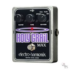 Electro-Harmonix Holy Grail Max Spring Hall Plate Reverse Reverb Guitar Pedal
