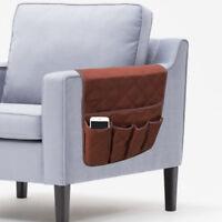 5 poche canapé bras organisateur Caddy gadgets plateau stockage porte à distance
