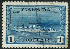CANADA - 1942 KGVI $1 'BLUE' GU SG388 Cv £13 [A3403]