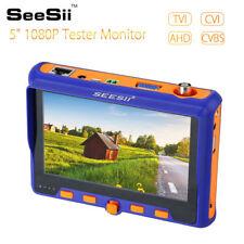 Original SeeSii 5 inch Monitor CCTV Camera Tester TVI CVI AHD VGA CVBS Test Tool