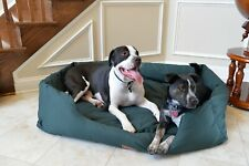 New listing Armarkat Model D01Fml-M Medium Laurel Green Bolstered Pet Bed