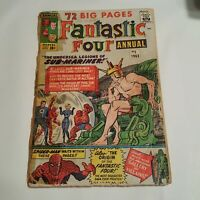 Fantastic Four Annual #1 (1963, Marvel) - See Pictures For Condition
