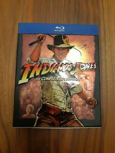 Indiana Jones - The Complete Adventures Blu-ray Box Set
