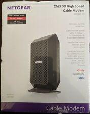 Netgear CM700100NAS CM700-100NAS CM700 DOCSIS 3.0 Cable Modem NEW! (CR)