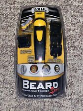 Wahl Sport Rechargeable Beard Trimmer 9953-200 Durable Prec Blades New SEALED