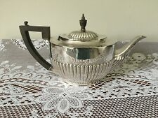 Antique georgian style silver plated teapot