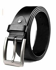 KAEZRI Mens/Gents/Boys Genuine Original Leather Belt | Formal/Casual | Brown/Bla