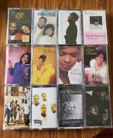 The Winans Lot of 12 Music Gospel Religious Cassettes Ce Ce, Vicki, & Bebe