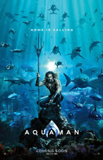 "AQUAMAN ( 11"" x 17"" ) Movie Collector's Poster Print  - B2G1F"