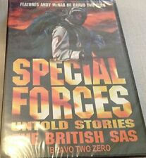 "SPECIAL FORCES,UNTOLD STORIES ""THE BRITISH SAS"" BRAVO TWO ZERO (N... - DVD  G4VG"