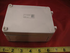 """Rittal PK 9508000 Junction Box Polycarbonate Solid Screw Cover 3.7x5.1x2.2"""" Nnb"""