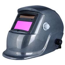 Auto Darkening Welding Helmet Mask Cap Arc Tig Mig Grinding Solar Soldering