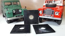 Land Rover Series 1 2 2a 3 Front Radiator Grille Panel Chassis Rubber Spacers x3