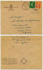 CANADIAN Legion servizi stampato Busta 1942 WW2 FPO Aldershot