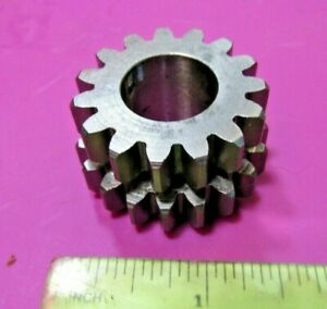 Rickman Zundapp 125 1st & 2nd Twin Replacement Gear p/n R070 05 142 NOS 15x19 T