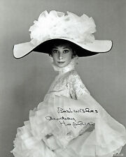 "Audrey Hepburn  AUTOGRAPHED PHOTO COPY B & W Reprint 8"" x 10""  AUD-09"
