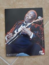 BB King Blues Guitar Live 8x10 1998 OFFICIAL Concert Merch Booth Photo #4