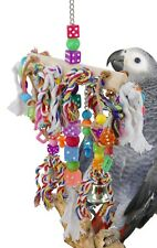 1719 Rope Chain Waterfall Bird Toy Parrot Cage Toys Cages African Grey Amazon