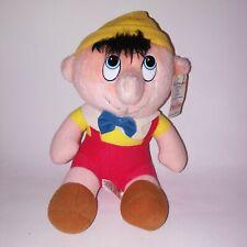 "Walt Disney Pinocchio Stuffed Plush Animated Film 7"" Collectible Rare Vintage"