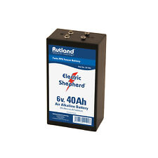 Rutland 6v Replacement battery PP8 40AH Electric Fencing Battery for Energisers