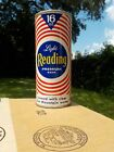 16 OZ READING RED HALF QUART STRAIGHT STEEL OLD BEER CAN