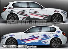 BMW RALLY 003 racing decals stickers graphics vinyl 1 2 3 4 5 6 series
