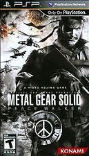 NEW PSP Game   Metal Gear Solid: Peace Walker (Greatest Hits)