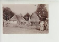 NIKOLA TESLA 's birth's village SMILJAN - unique real photo postcard 1900. RRR