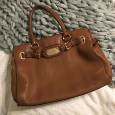8d7fda70396c Michael Kors Hamilton large tote in tan leather with gold embellishments