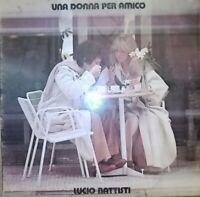 VINILE LP LUCIO BATTISTI - UNA DONNA PER AMICO 33 GIRI ANNO 1978 ITALY ZPLN34036